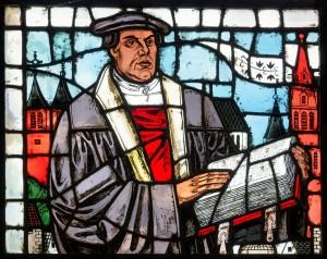 Luther als Glasfenster