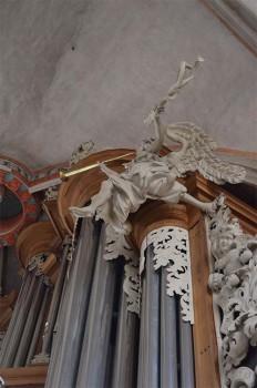 Orgel_Pfarrkirche_Trompetenengel